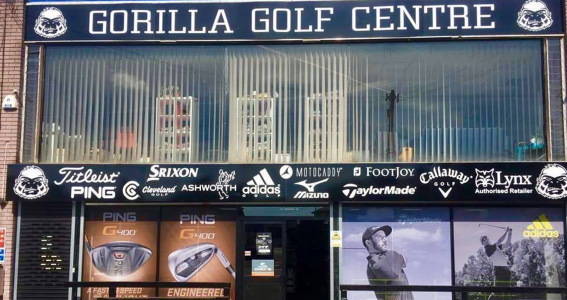 Gorilla Golf Centre Newport shop